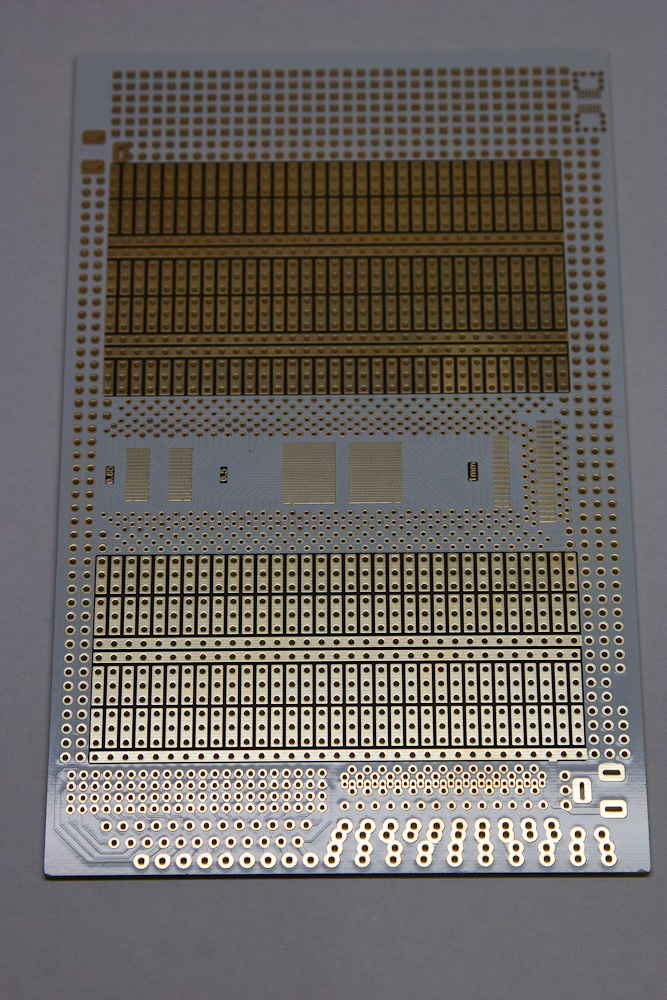 White Wing Logic prototyping board - bottom